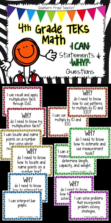 4th Grade Math Teks Texas Teks 4th Grade Math Objectives Do You Have