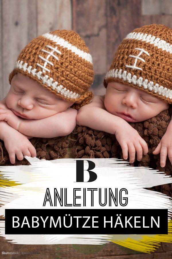 Babymütze häkeln: Anleitung für eine zuckersüße Zipfel-Mütze | Pinterest