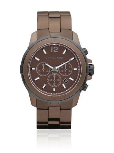 Women's Brown Stainless Steel Case and Bracelet Quartz Chronograph Brown Dial Michael Kors http://www.amazon.com/dp/B00AB084Y8/ref=cm_sw_r_pi_dp_IgENtb1408XCM6VC