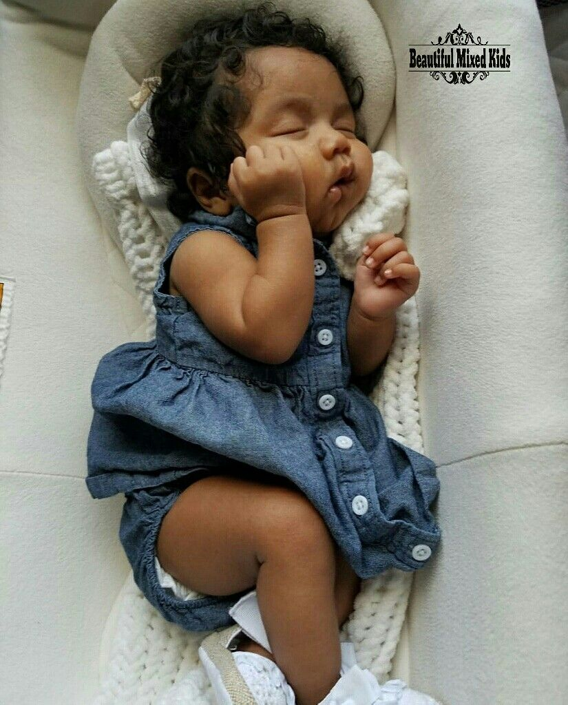 Amiah - 7 Months • African American, Indian & Trinidadian ...
