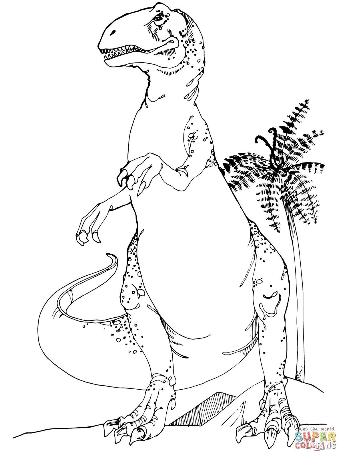 Allosaurus Jurassic Dinosaur