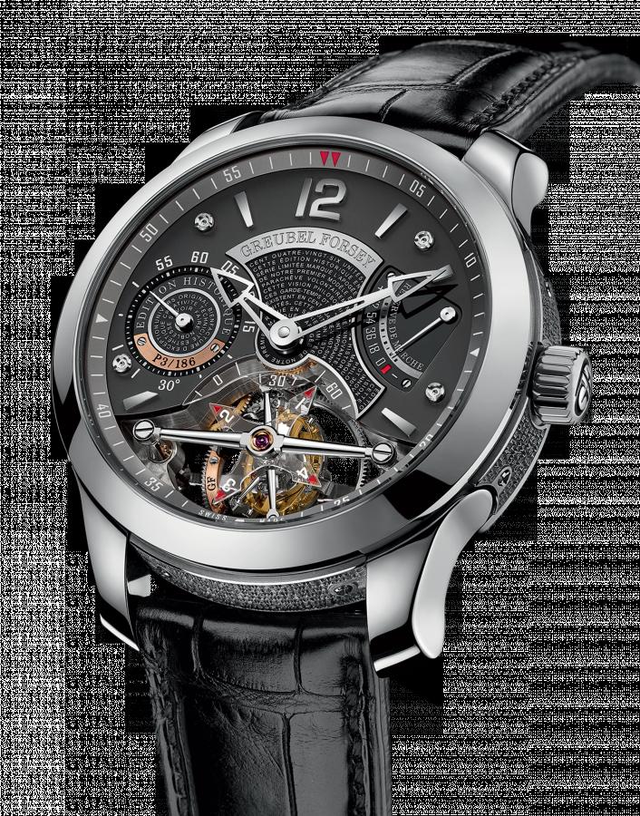 4e27d09e03a Relógio · Relógios De Pulso Masculino · Double Tourbillon 30° Édition  Historique