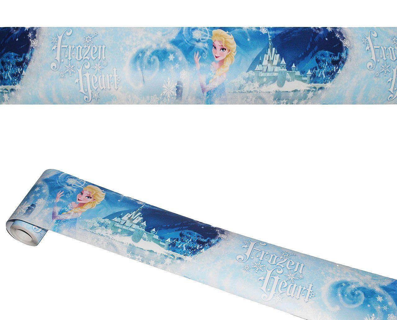 ❄ Frozen Kinderzimmer: Wandbordüre - selbstklebend - \