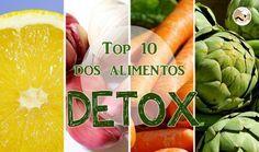 Top 10 dos alimentos Détox