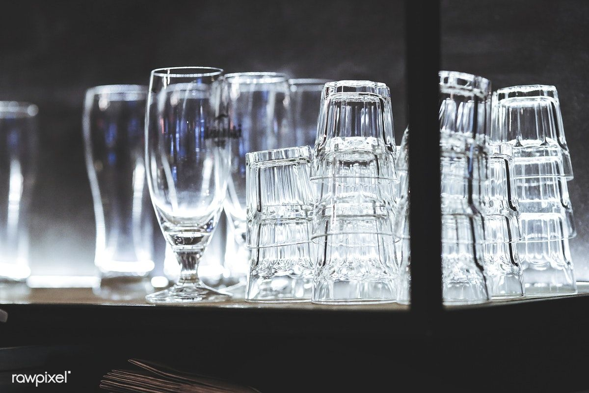 Clean Drinking Glasses Free Image By Rawpixel Com