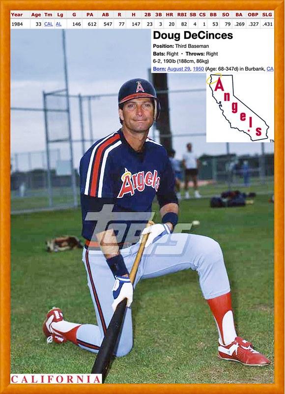 1985 Doug Decinces In 2020 Pittsburgh Pirates Baseball Baseball Players Baseball Trading Cards