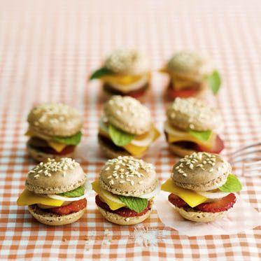 s e fr chte burger rezept f r kinder s es rezepte und vegane macarons. Black Bedroom Furniture Sets. Home Design Ideas