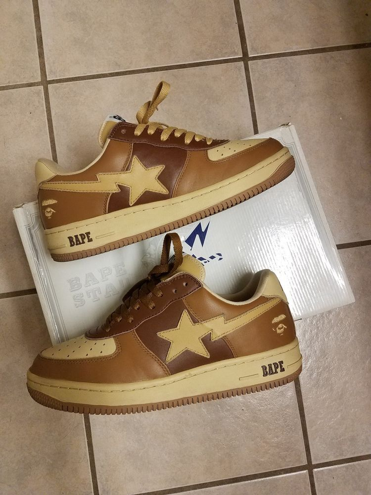 317698edc00fff Bape 2009 Bapesta Foot Soldier  Woodland  Pack Mens 10 A Bathing Ape Vtg  Rare  fashion  clothing  shoes  accessories  mensshoes  athleticshoes (ebay  link)