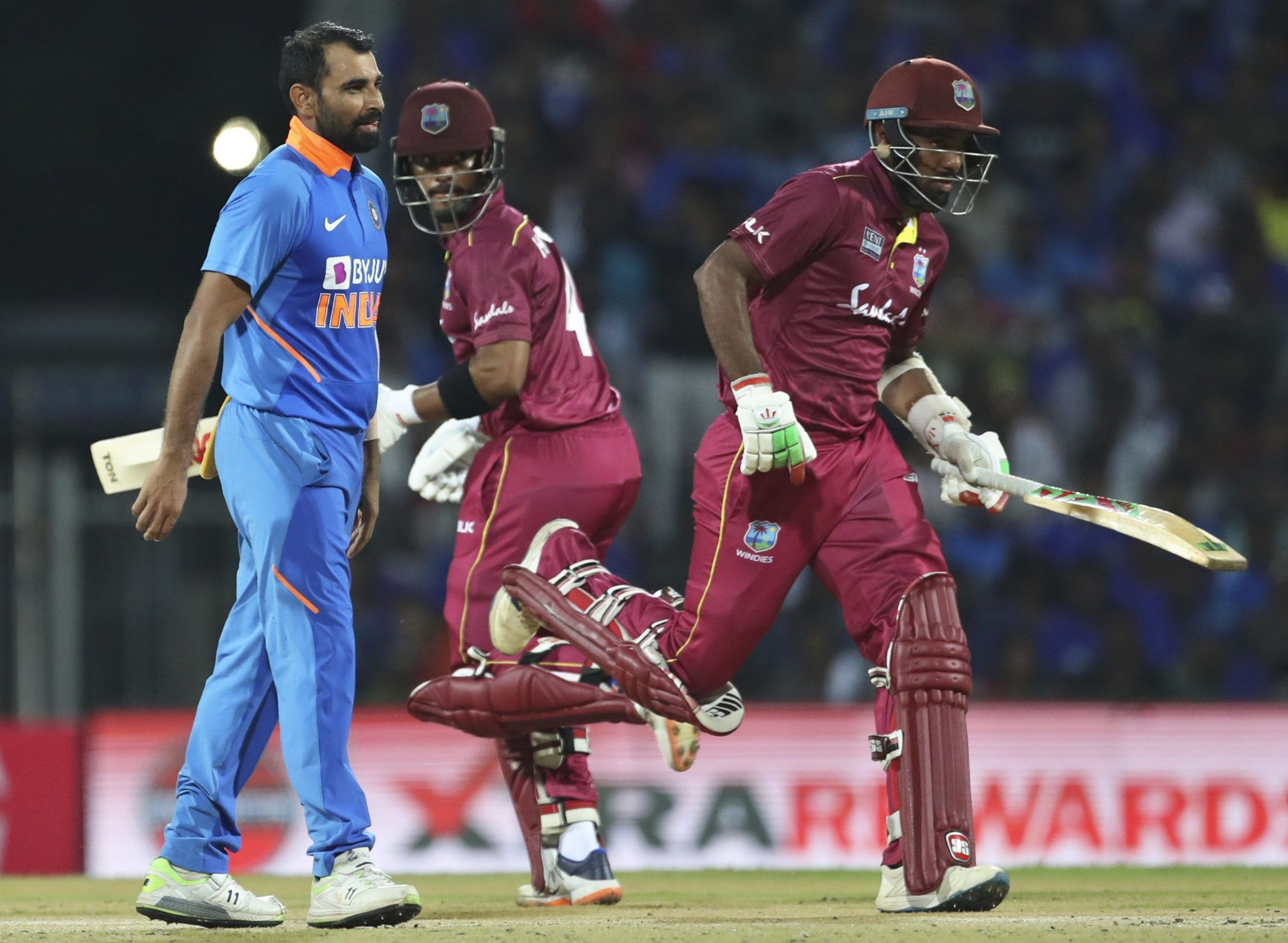 CRICKET Hetmyer ton as West Indies beats India by 8