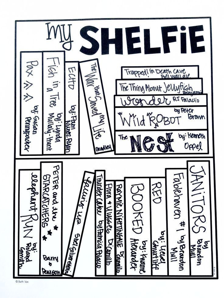 Reading Shelfies and Snapshots (Visual Reading Logs