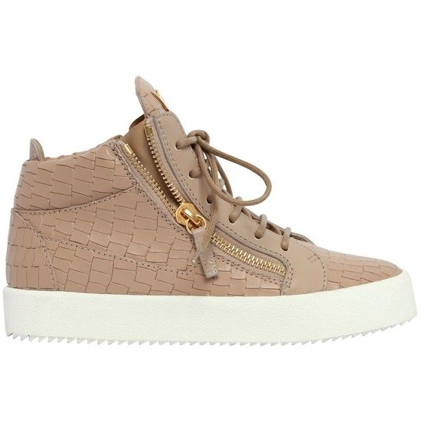 3f9e84a14 Giuseppe Zanotti Design Women 20mm Embossed Leather Mid Top Sneakers  (17