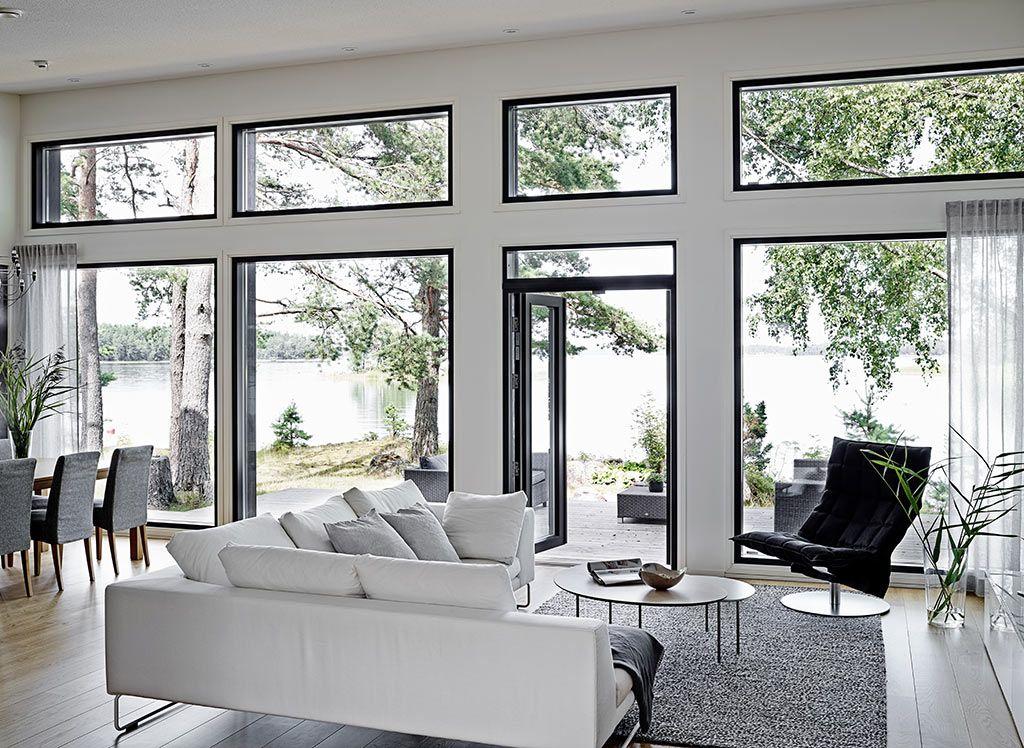 Woodnotes Swivel k Chair. Living room. Modern home. Home. Interior design. Wooden house. Light. Kannustalo