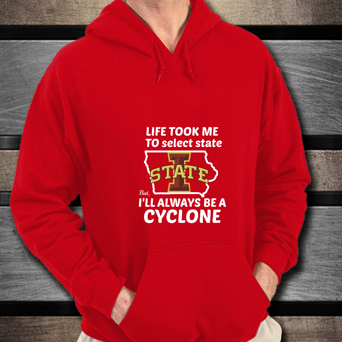 d9d8b885064 Iowa state cyclones life took me to (select any state) but, i'll ...