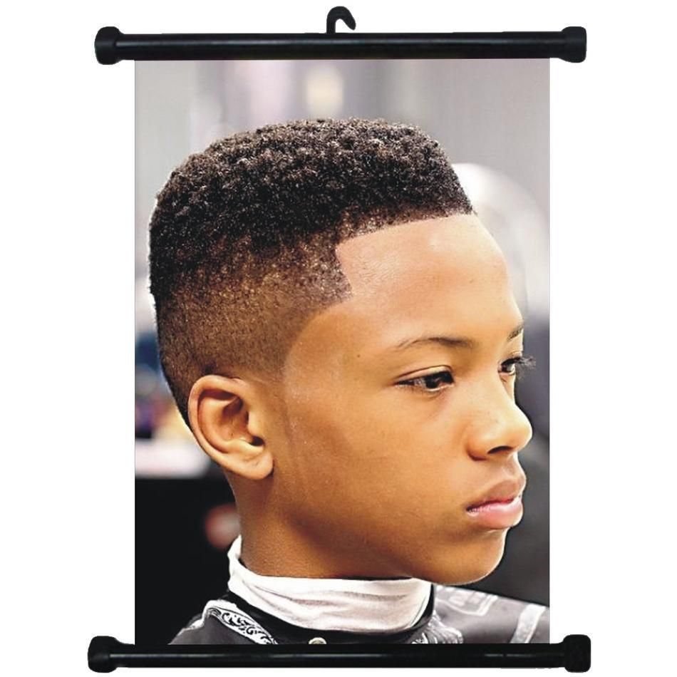 $2.99 - sp217157 boy hairstyles wall scroll poster for