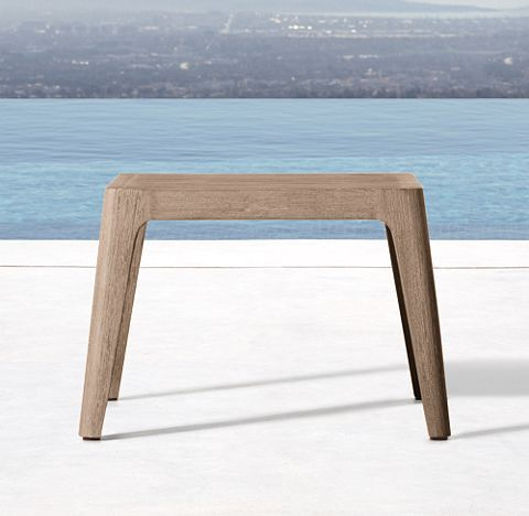 Ciel Collection - Weathered | RH | Side table, Rectangular ...