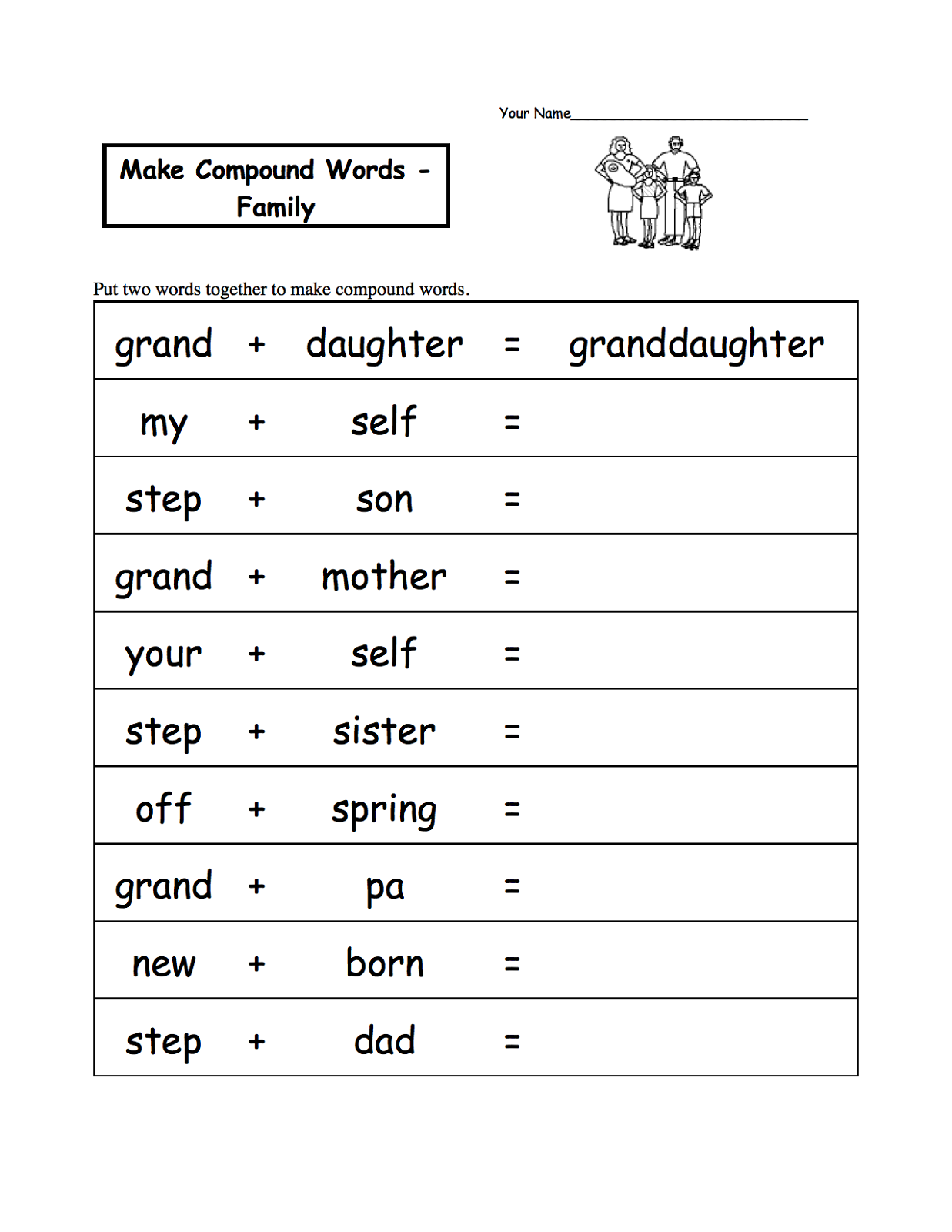 Joining Words Worksheet For Grade 2