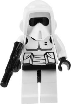 Lego Star Wars Minifigure Trooper  Rebel Scout Troopers With Blaster