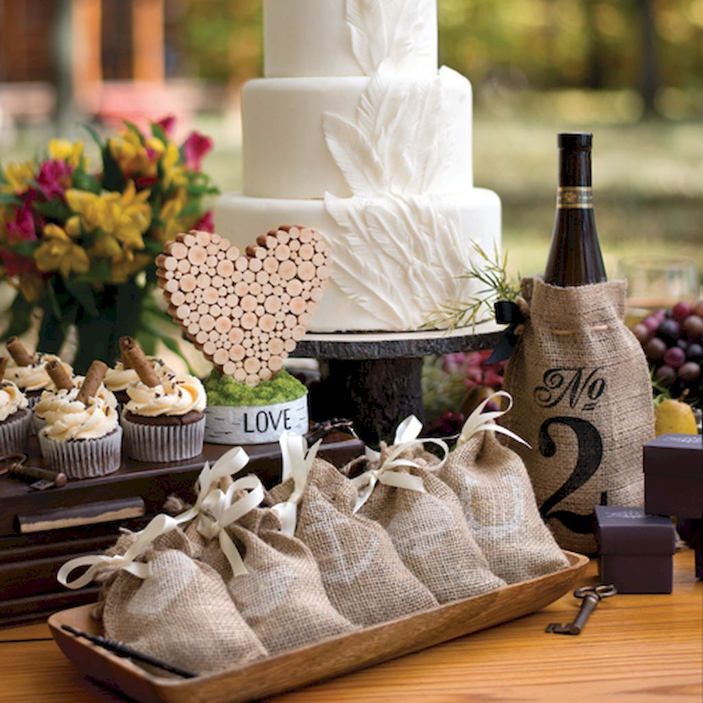 Wedding ideas rustic theme   Unique Rustic Theme Bridal Shower Favor Ideas  Rustic theme