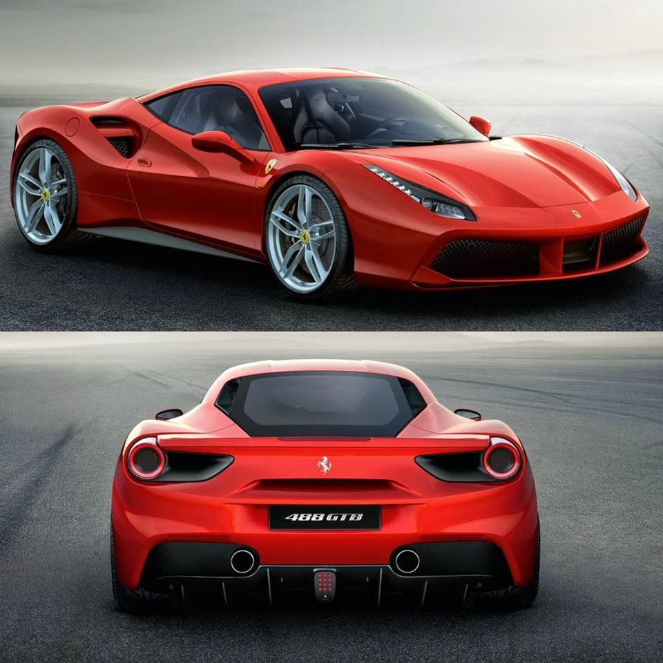 Ferrari Car Show: Cool Sports Cars, Ferrari 488