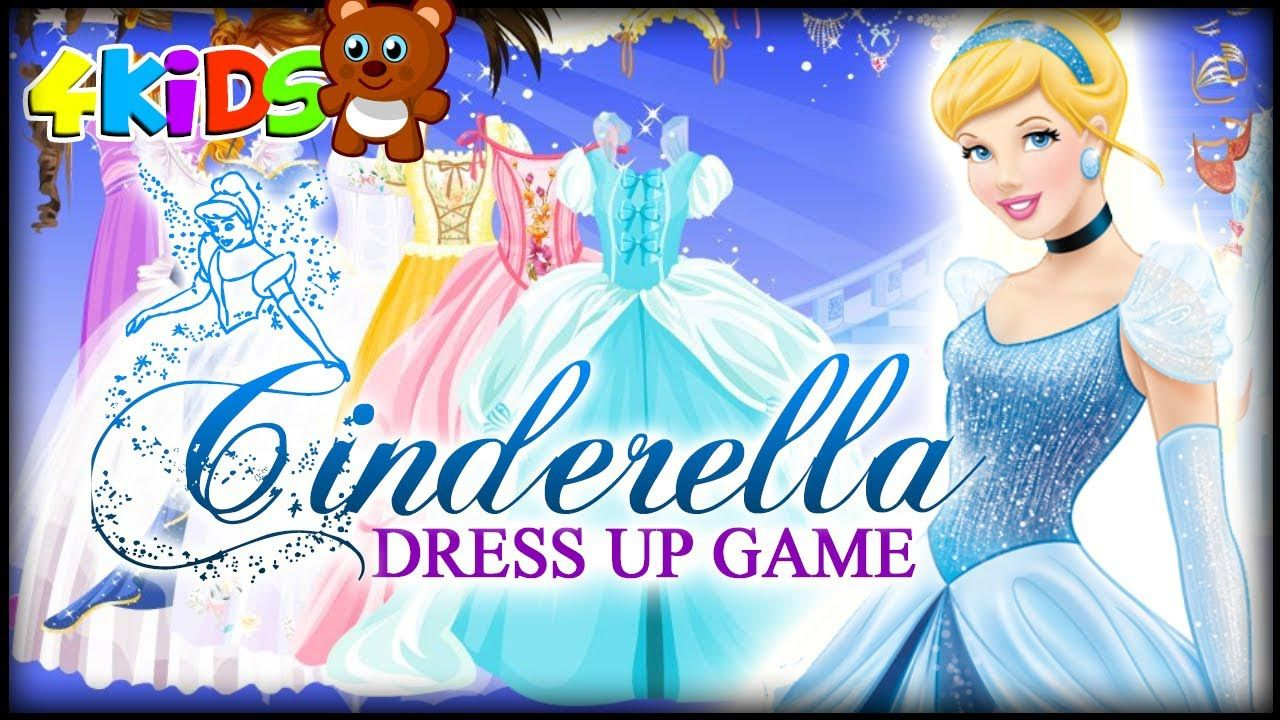 Disney Princess Cinderella Wedding Dress Up Games : Princess dress up party games