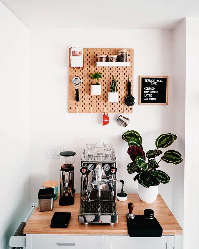 26 Home Coffee Station Ideas to Help You Quit Starbucks