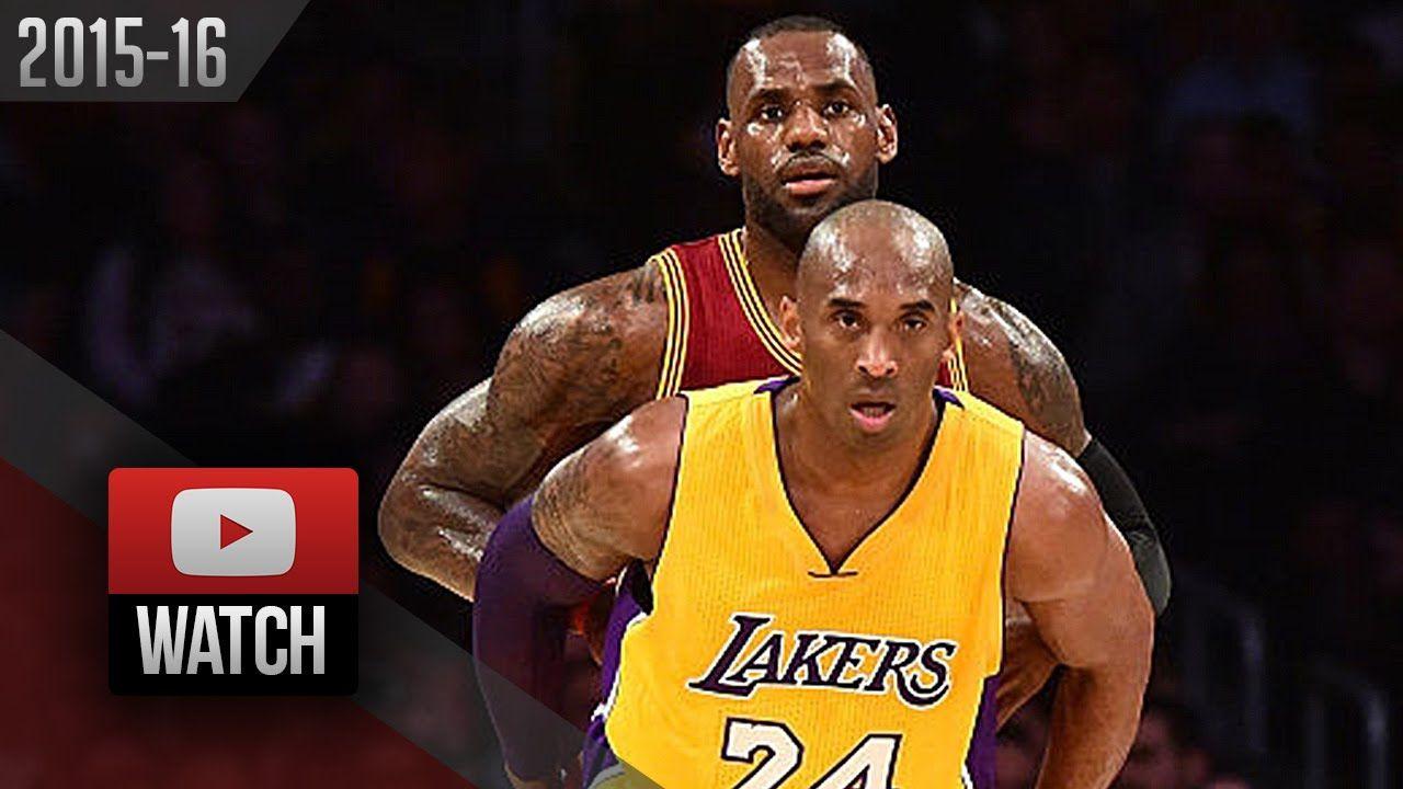 Miami heat lebron jamess vs golden state warriors nba2k17 miami - Lebron James Vs Kobe Bryant Last Duel Highlights 2016 03 10 Lakers Vs