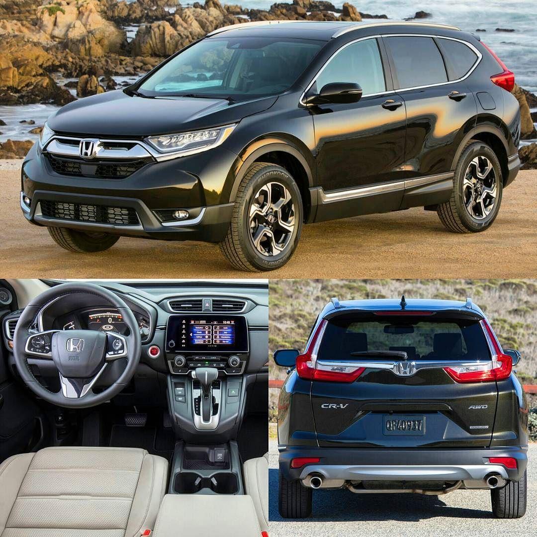 Honda CRV 2017 Essa é aquinta e nova geração do SUV que