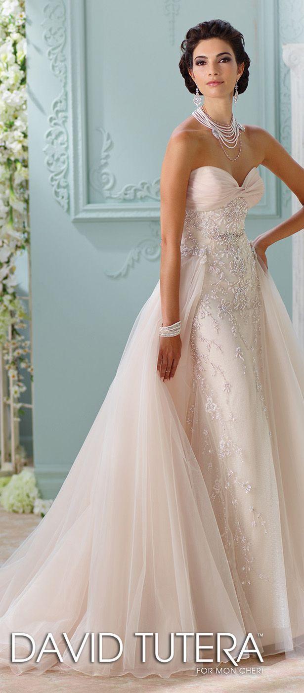David Tutera for Mon Cheri Spring 2016 Wedding Dress | WEDDING DRESS ...