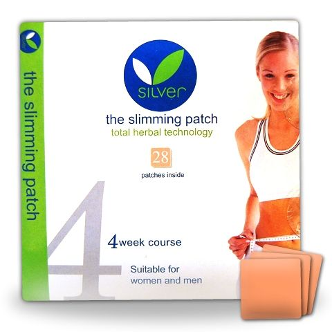 Silver Slimming Patches Are Completely Natural And Contain No