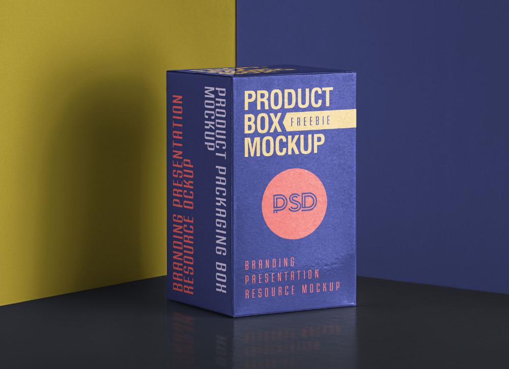 Download Free Product Packaging Box Mockup Psd Good Mockups Box Mockup Gift Packaging Design Packaging Mockup