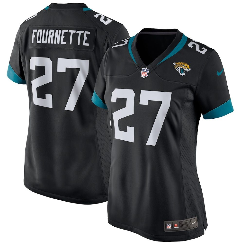 Women S Nike Leonard Fournette Black Jacksonville Jaguars New 2018 Game Jersey Size Small Jag Black