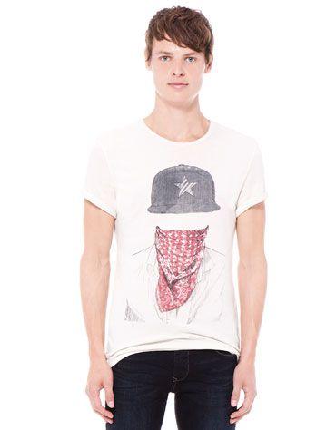 be6ecf1be0 Bershka Saudi Arabia - Boy print T-shirt | i.desire | Shirts, Mens ...