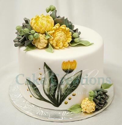 Spring+Succulents+cake