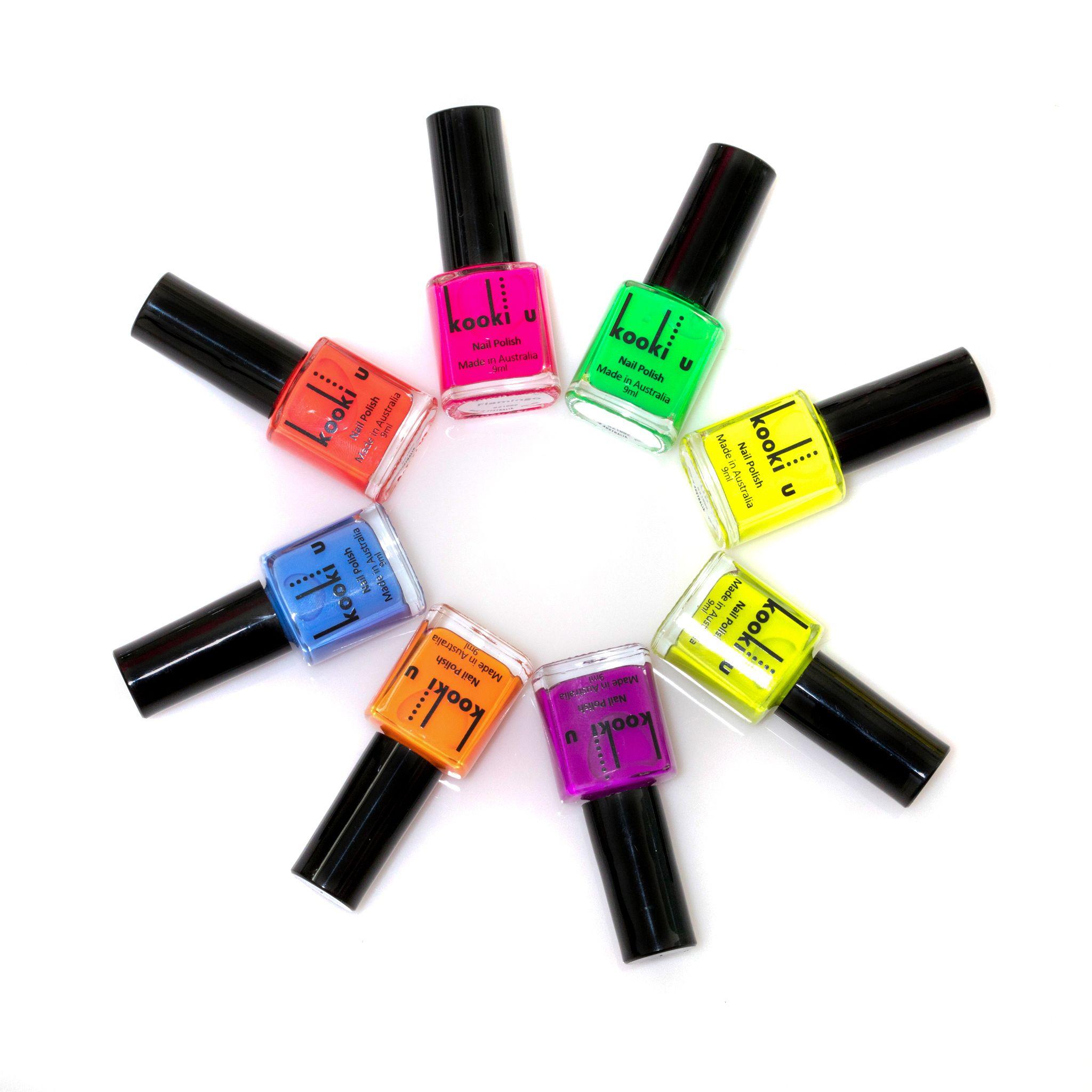 This is our neon colour range. kookiu kookiuaustralia