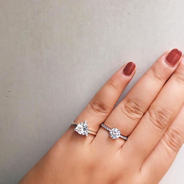 139ef98325d72 Engagement rings = commitment to another Self Love Pinky Ring ...