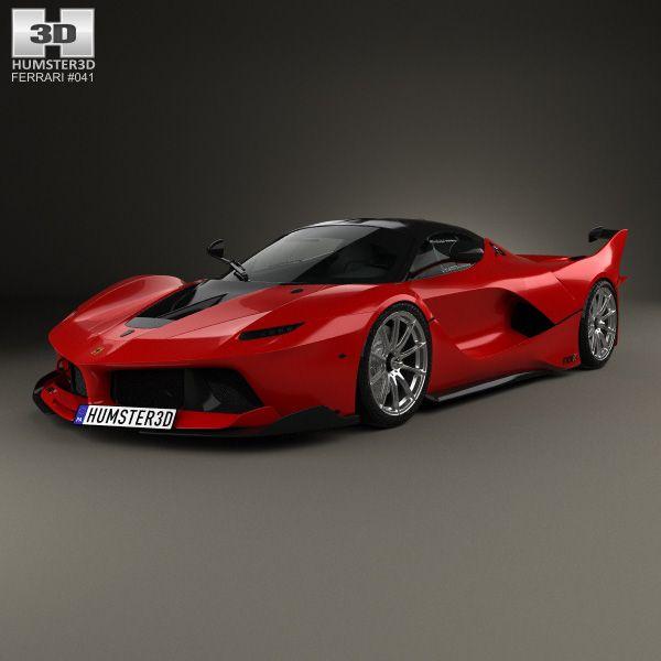 3D model of Ferrari FXX-K 2015