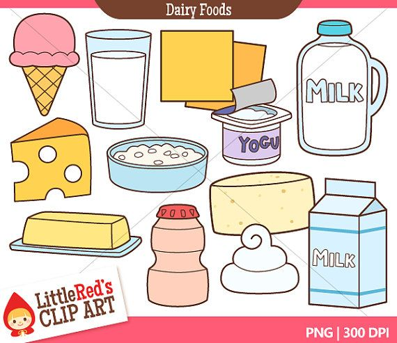 dairy foods clip art and lineart personal and commercial use rh pinterest com dairy clipart black and white clipart dairy cows