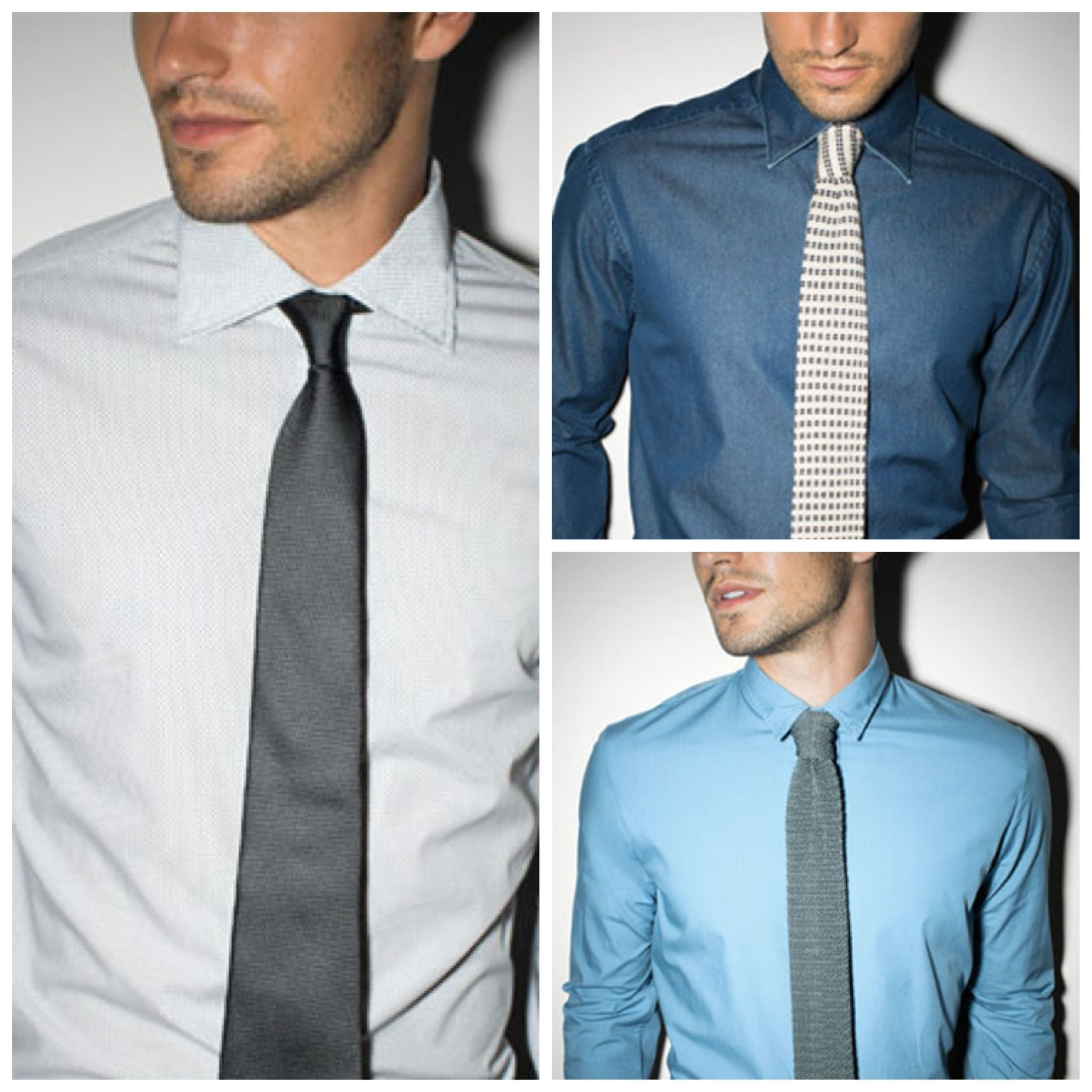 Dress Shirt And Tie Combo