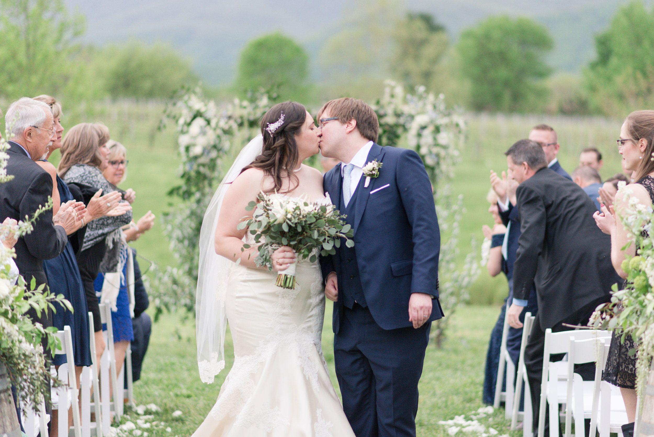 Mr Mrs Browning Wedding Vineyard Wedding Photography