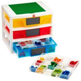 Awesome Idea The Container Store LEGO Tabletop Drawers