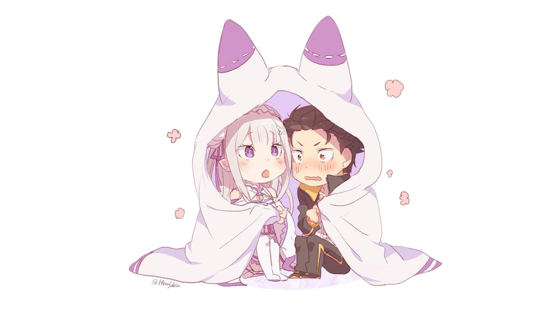 Anime Re Zero Starting Life In Another World Emilia Re