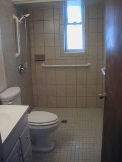 Roll In Shower Handicap Bathroom Wheelchair Shower Bathroom - Handicap accessible bathroom remodel