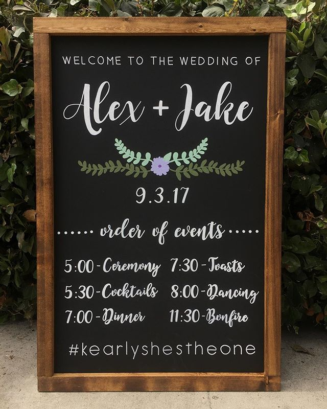 Pin On Must Have Wedding Signs