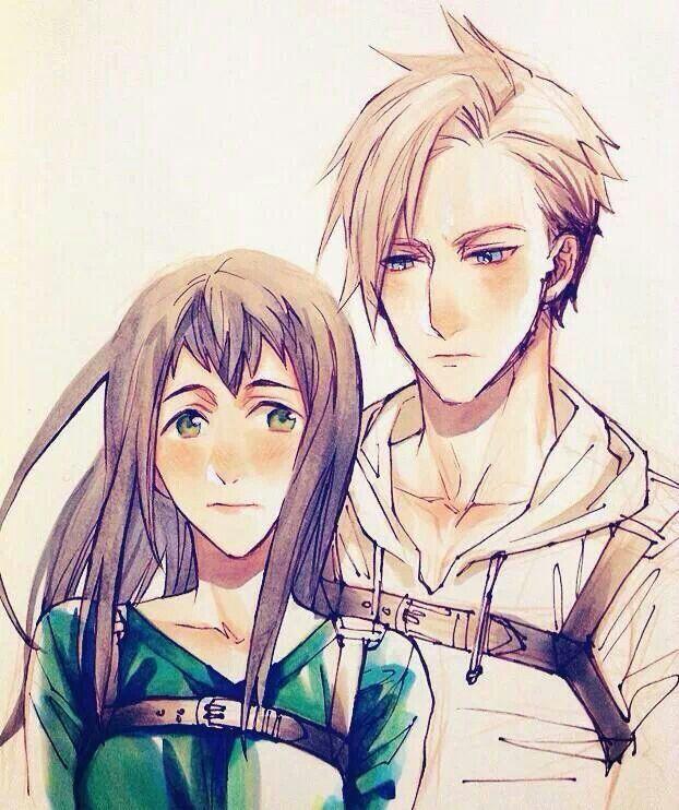 Annie and Berthold genderbend.