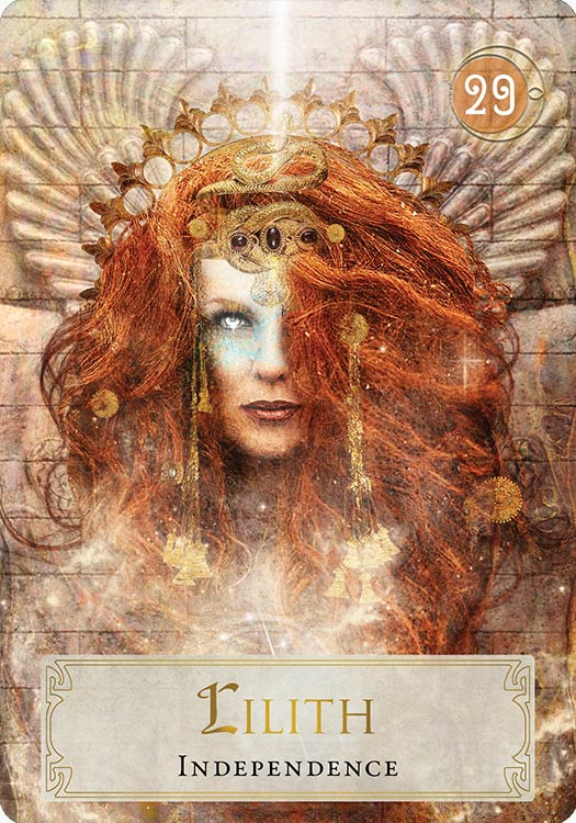 Goddess Power Oracle Lilith Independence The Jewish Goddess Lilith Refused To Be Dominated By The First Goddess Art Divine Feminine Goddess Goddess Magic