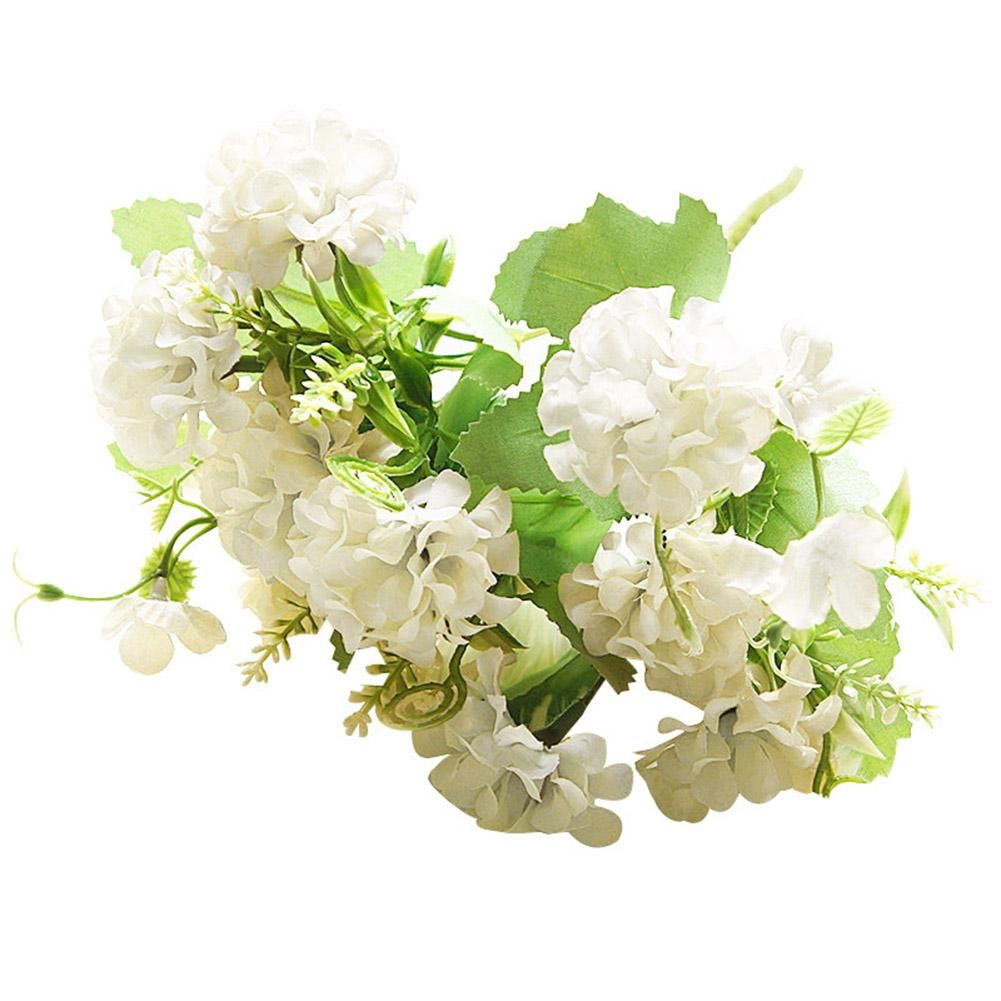 Photo of 1Pc Artificial Flower Garden DIY Party Home Photo Holiday Stage Craft Decoration – White