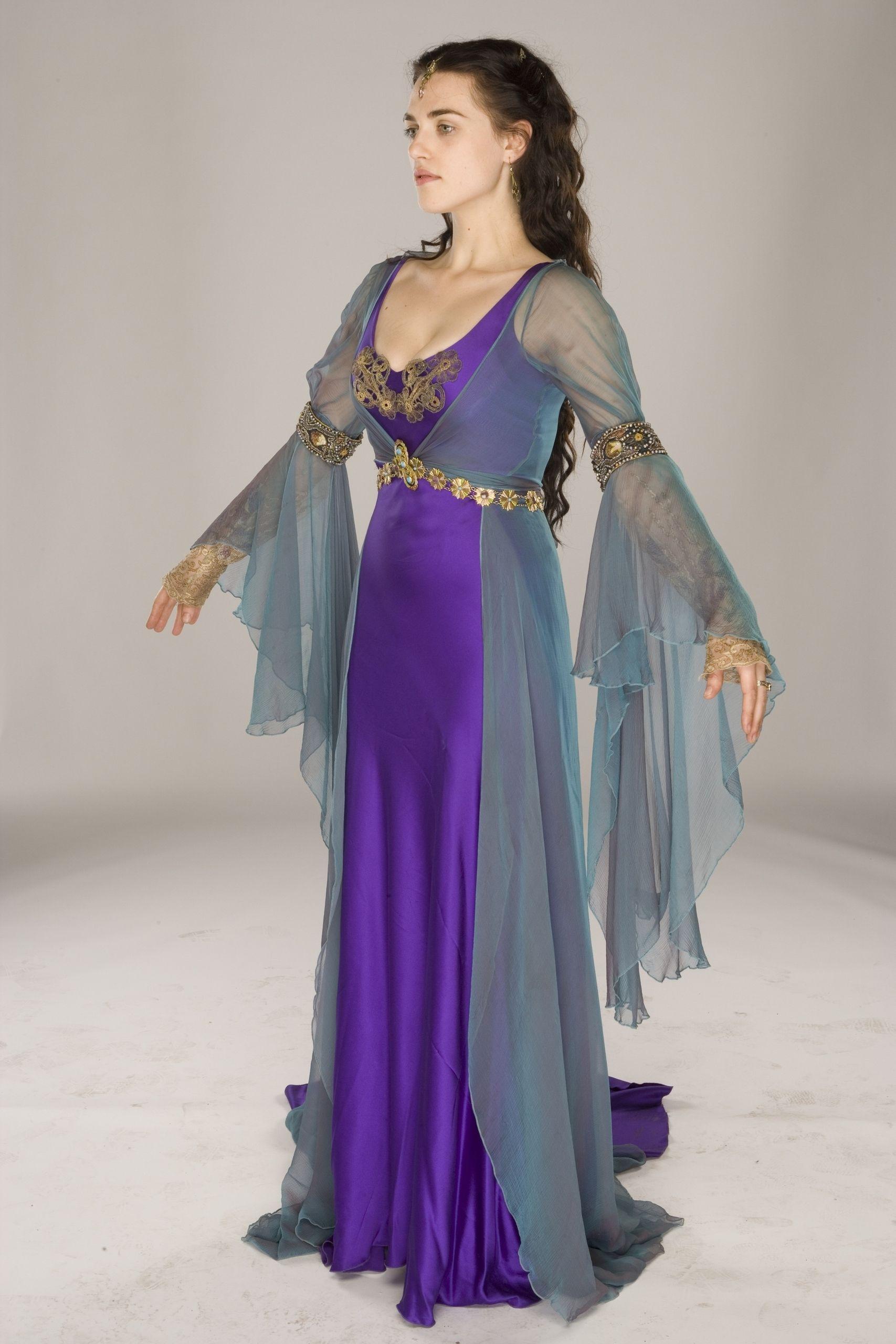 Lady Morgana 1 ª Temporada - merlin-on-bbc Foto | Costumes and ...