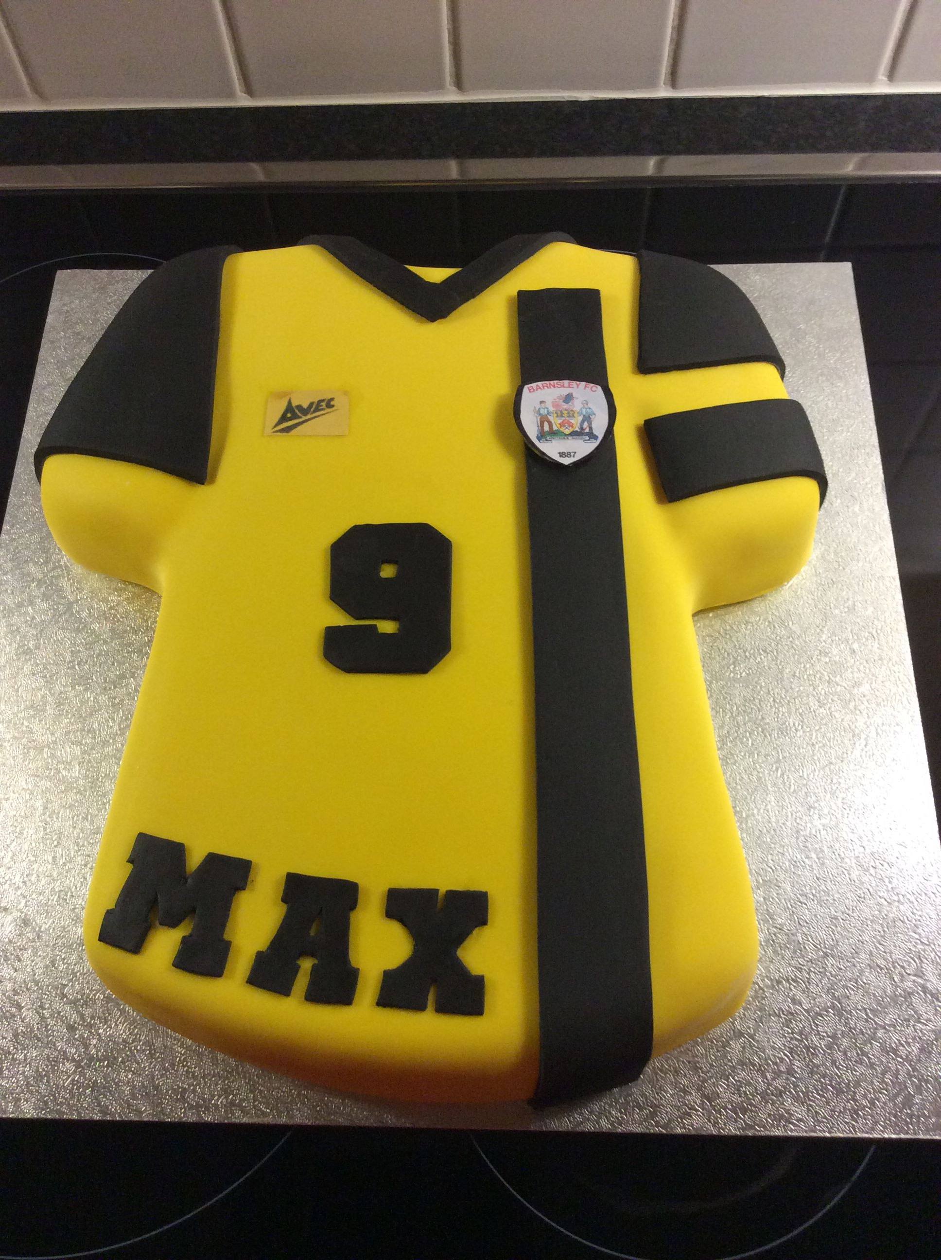 Football shirt cake by ann peart with images shirt