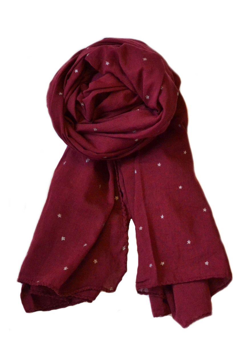 burgundy ~ scarf