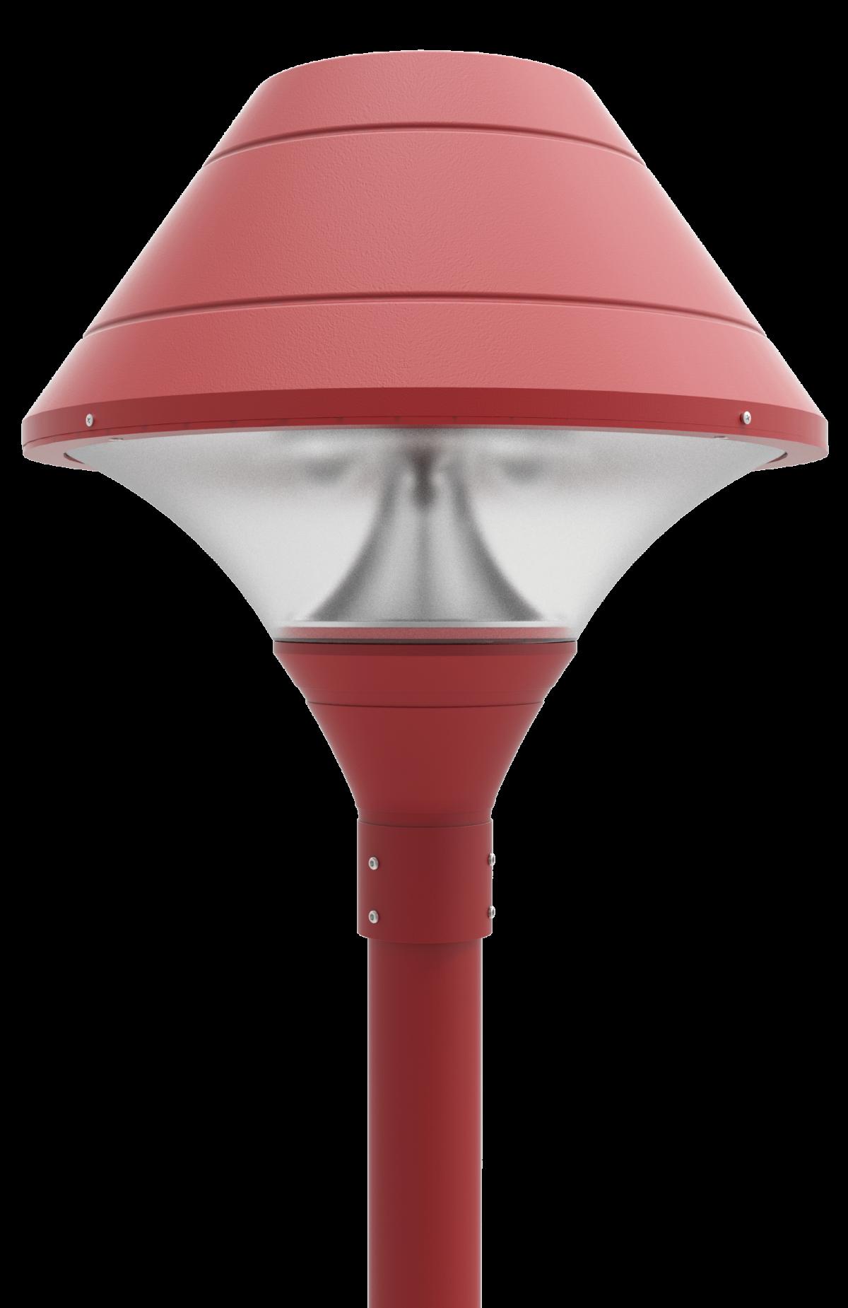 Led Post Top Light Fixtures Pt 640 Series Dukelight
